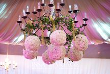 Decoratiuni florale candelabru restaurant nunta
