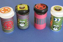 Precision's Craft Corner / DIY & Crafts: Alternate Uses for Test Strips, Test Strip Containers, and More!