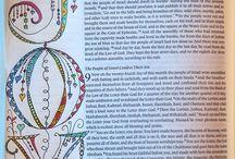 Bible Journaling - Nehemiah
