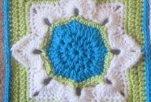 Crochet Afghan Squares designed by Julie Yeager / Some favorite Crochet afghan squares designed by Julie Yeager