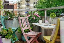patios y balcones
