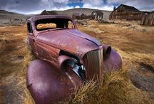 History of Old rotting cars / by Jim Lothian