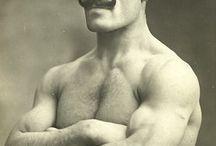 strongman's moustache