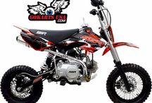 SSR 110DX Pit Bike, 4-Speed Manual / 4-Speed Manual Clutch Transmission, Dual Disc Brakes. CARB Certified for sale in CA - RED STICKER
