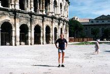 Cestování na kole. / Francie - Avignon, Nimes, Orange, Aix-en-Provence ........