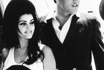 Elvis and Pricilla Presly