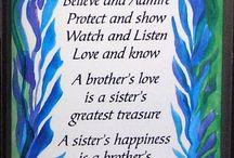 {my 5 siblings} / by Hannah B.