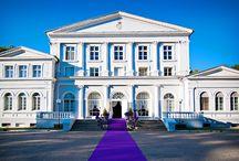 """Iwno - Pałac / Pałac w Iwnie zbudowany w latach 1851-55 dla Józefa Mielżyńskiego prawdopodobnie wg amatorskiego projektu jego kuzyna, Seweryna Mielżyńskiego z Miłosławia. Przebudowany w latach 1902 i 1905. Pałac należy do Stadniny Koni """"IWNO"""" Sp. z o.o., w oficynie hotel """"Karino""""."""