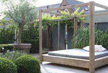loungebed garden
