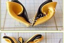 канзаши и вышивка лентами