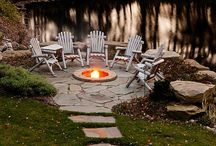 Lake Home Exteriors / Decorating for outdoor porches, outdoor fireplaces and bars, wonderful patios and decks.
