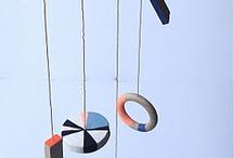 Mobiles, kinetic art, automata, whirlgig, hanging things
