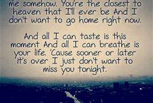 Lyrics of the heart