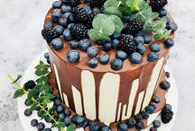 Naked cake semi naked cake