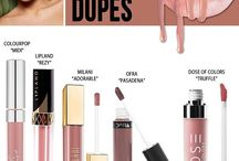 MAKE UP DUPES - KYLIE COSMETICS