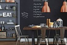 Industrial Interiors - Dining Rooms