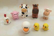 Farm Animals,easy to make