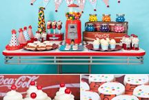 Cakes, Candy, Streamers and more! / by Lia Brewer