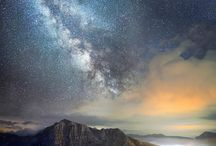 The Milky Way / the Universe / Het heelal