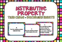 math properties / by Maria Melissa