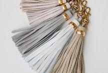 leather tassels