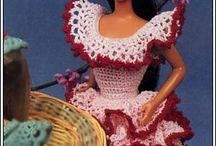 Barbie / Barbie crochet dress