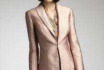 Metallic suit