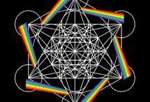 Posvátná geometrie / Sacred geometry / Všechno se vším souvisí a dá se vyjádřit obrazci posvátné geometrie... http://posvatnageometrie.eu