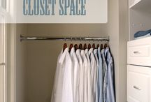 Organising closets