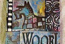 doggy mosaic