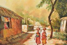 Paintings in Jaipur