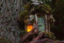 magas fa tündérekkel