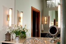 Bright Ideas - Bathrooms / Perfect bathroom lighting helps you see well and makes you look fabulous!