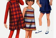 60s Patterns - Kids Fashion / Inspiration from 60s Patterns