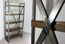How to build an industrial bookcase