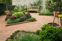 Jardins / Paysagisme buis et fontaines
