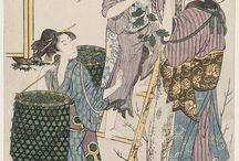 Utamaro, Hokusai e non solo