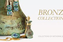 Katherine Jetter Bronze Collection / Melding the ancient with the modern. #Couture