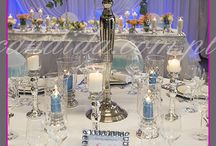 stoły wesele