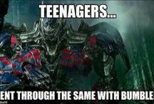Transformers / Wether you are a geek or a nerd (like me) transformers is awesome!
