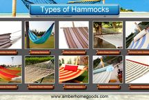 Types Of Hammocks from Amber Home Goods / Amber home goods offer best collections of hammocks like brazilian hammock, camping hammock, cotton fabric hammock, cotton rope hammock, dickson fabric hammock, maxican hammock, polyester rope hammock, quilted hammock, sunbrella hammock, textelene hammock with discounted price.