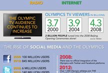 Infographics / Infographics about nature, outdoor, sports, dating, social networks, etc.
