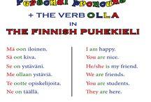The Finnish spoken language 'puhekieli'