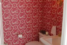 Wallpaper / We hang wallpaper of all types and give special attention to detail.
