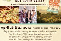 Dry Creek Valley Wine Trip 2014