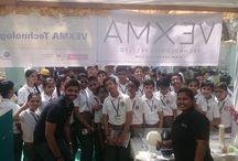 Innovation Fair - Vexmatech / Had an eventful three days exhibiting 3d printing process, applications and our very own 3d printed line of designer lamps at Vikram Sarabhai Community Science Centre. It was a pleasure educating young minds about the revolutionary technology and why it should be included in the main stream education. None of which was possible without our growing and a very enthusiastic TEAM VEXMA that help made it happen! For #future #doctors' #engineers #architects #social responsibility #artists' @Vexmatech.