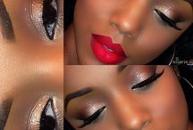 Maquiagem pele negra