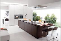 Contemporary Kitchens we like / Modern style, minimalist kitchen schemes