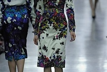 LFW ¬ Erdem / Thank goodness for Erdem and their banishment of the standard muted tones of black, grey and brown for Autumn/Winter clothes. Their collection was a floral extravaganza to be inspired by. / by Zuneta Beauty