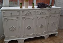 sideboard schabby chic